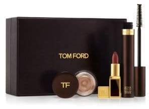 Tom Ford Rose Gold Eye& Lip Three-Piece Set