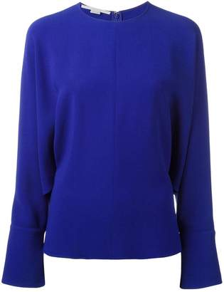 Stella McCartney drape sleeve blouse