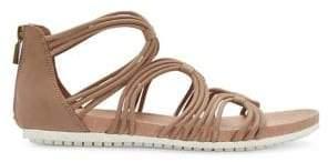 Me Too Shana Leather Gladiator Sandals