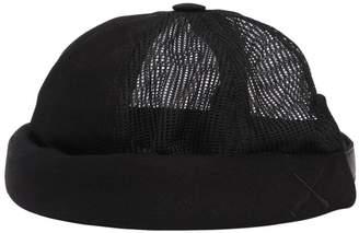 Handmade Cotton Denim & Mesh Sailor Hat