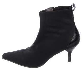 Donald J Pliner Neoprene Ankle Boots