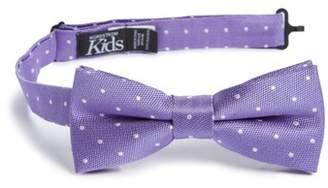 Nordstrom Dainty Dot Silk Bow Tie