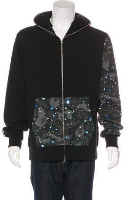 A Bathing Ape 2015 Space Camo Shark Hoodie