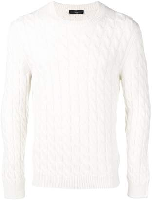 Fay cable knit sweater