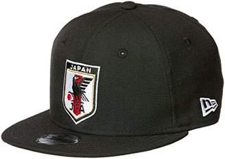 New Era (ニュー エラ) - [ニューエラ] サッカー 950 JFA オフィシャルロゴキャップ ブラック 11599563 [キッズ] 日本 OSFA (Free サイズ)