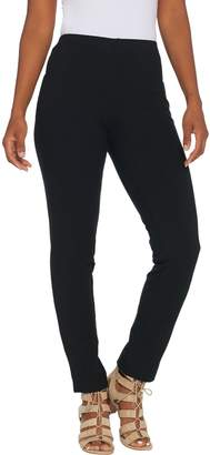 Women With Control Women with Control Tall Slim Leg Ankle Pants w/ Faux Back Pockets