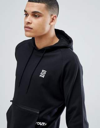 Jack and Jones Core Hoodie With Pouch Pocket