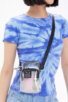 Urban Outfitters Shaye Clear Festival Crossbody Bag