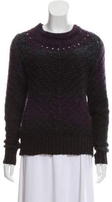 Theyskens' Theory Knitted Wool Mohair Sweater