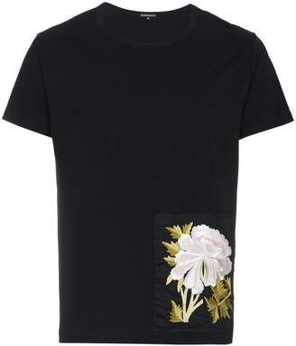 Ann Demeulemeester embroidered patch T-shirt