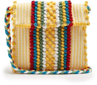 ANTONELLO TEDDE Suni cotton stripe cross-body bag