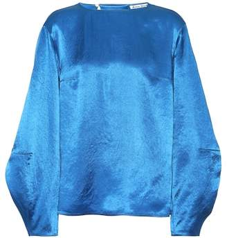 Acne Studios Blenda satin top