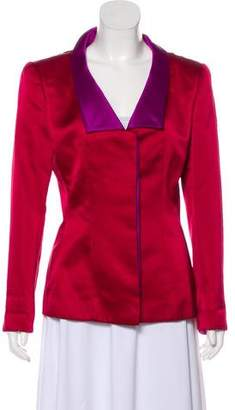 Oscar de la Renta Structured Fitted Jacket