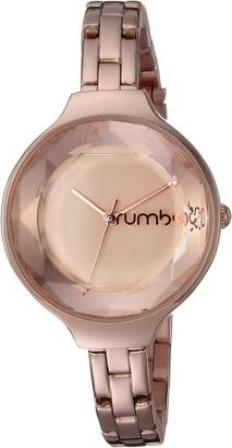 RumbaTime Women's 'Orchard Gem' Quartz Metal and Stainless Steel Casual Watch, Color:-Toned (Model: 27969)