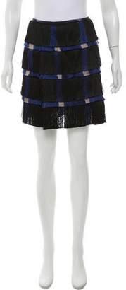 Marco De Vincenzo Fringe Mini Skirt