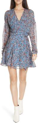 IRO Bustle Floral Print Minidress