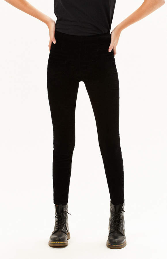 Kendall & Kylie Velvet Pin Up Jeggings