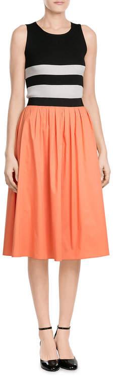 Paule KaPaule Ka Mixed-Media Dress