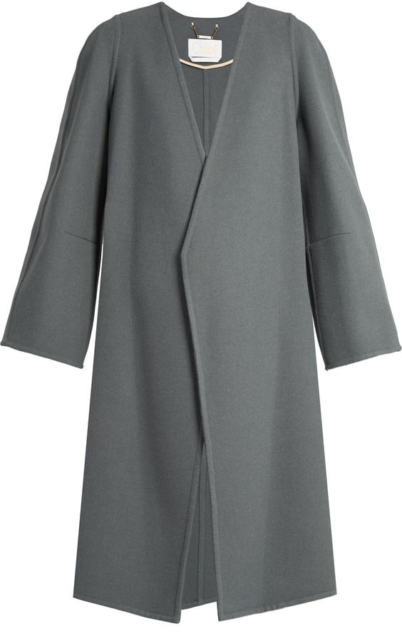 Chloé CHLOÉ Double-faced cashmere coat
