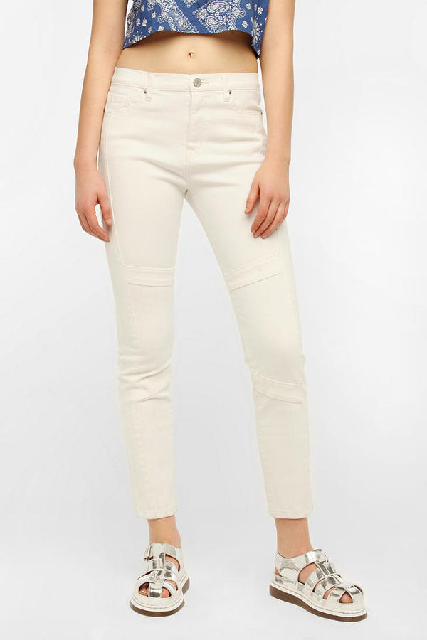 BDG Seamed Twig High-Rise Jean - White