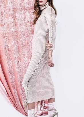 Tabula Rasa Tassili Sweater Dress In Camel