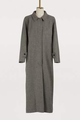 Miu Miu Long wool coat