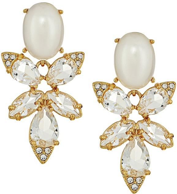 Kate SpadeKate Spade New York - Blushing Blooms Drop Earrings Earring
