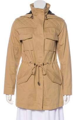Alice + Olivia Long Sleeve Hooded Jacket w/ Tags