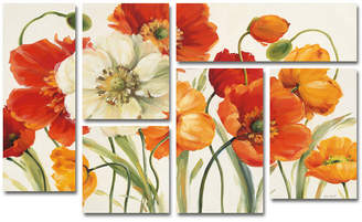 Trademark Global Lisa Audit 'Poppies Melody I' Multi-Panel Wall Art Set