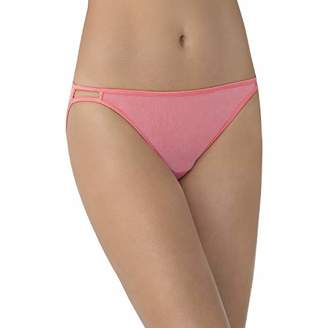 Vanity Fair Women's Illumination Body Shine String Bikini Panty 18108