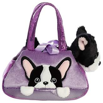Aurora World Fancy Pals Peek A Boo French Bulldog Soft Toy