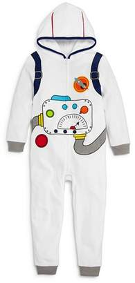 Dream Life Boys' Fleece Astronaut Romper - Little Kid, Big Kid