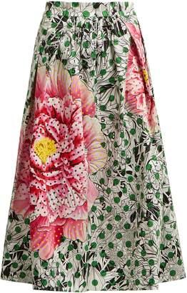 Mary Katrantzou Bowles high-waist printed skirt