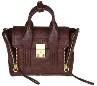 Philipp Plein Phillip Lim pashli Mini Bag In Wine Leather