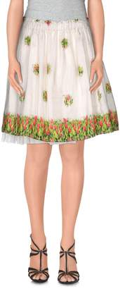 PRINCESSE METROPOLITAINE Knee length skirts