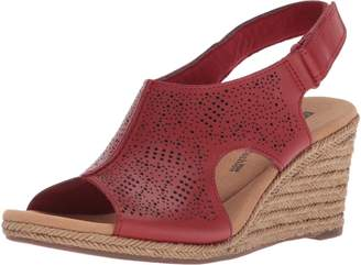 cb9f5a19e8ea at Amazon Canada · Clarks Women s Lafley Rosen Sandal