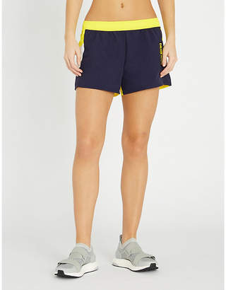 Calvin Klein Contrast-panel shell shorts