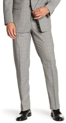 "Perry Ellis Plaid Woven Pants - 30-34"" Inseam"