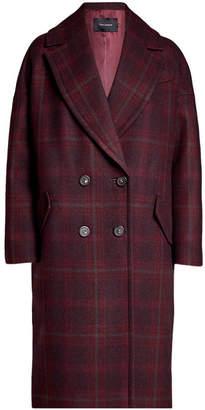 Tara Jarmon Printed Coat with Wool