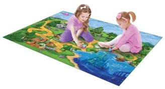 TCG Toys Disney Princess Jumbo Mega Mat Play Mat w/ 2 Bonus Vehicles