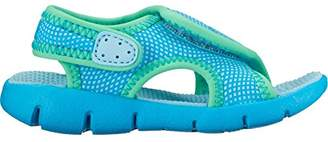 Nike New Baby Girl's Sunray Adjust 4 Sandal Still Blue/Green 5