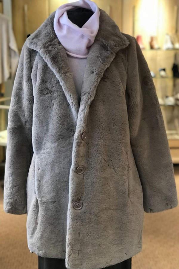 Rino Pelle Faux Fur Coat