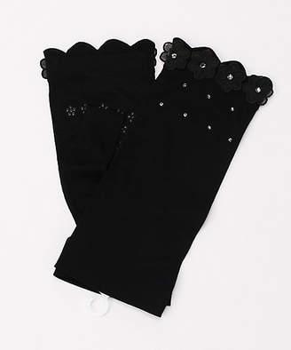 UVケア手袋 シルク混指無20(8141650-3)