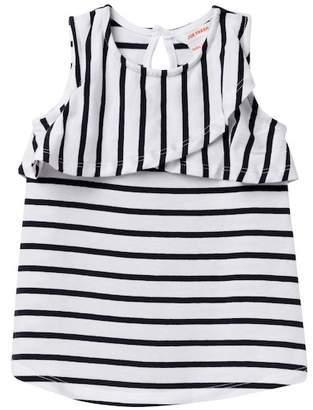 Joe Fresh Knit Stripe Dress (Baby Girls)