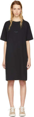 Acne Studios Black Joupa T-Shirt Dress