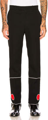 Calvin Klein Red Bottom Trousers