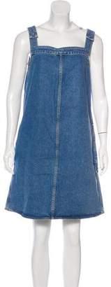 MiH Jeans Denim Sleeveless Dress