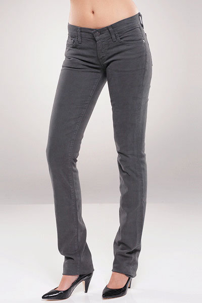 Citizens of Humanity Ava Straight Leg in Dark Grey