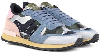 Valentino Rockrunner leather sneakers