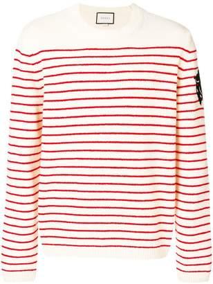 Gucci striped intarsia jumper
